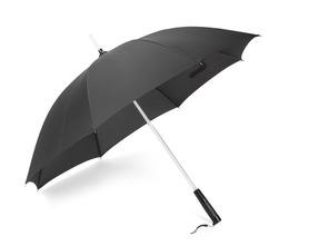 Parasol RAIO czarny z latarką podświetlany